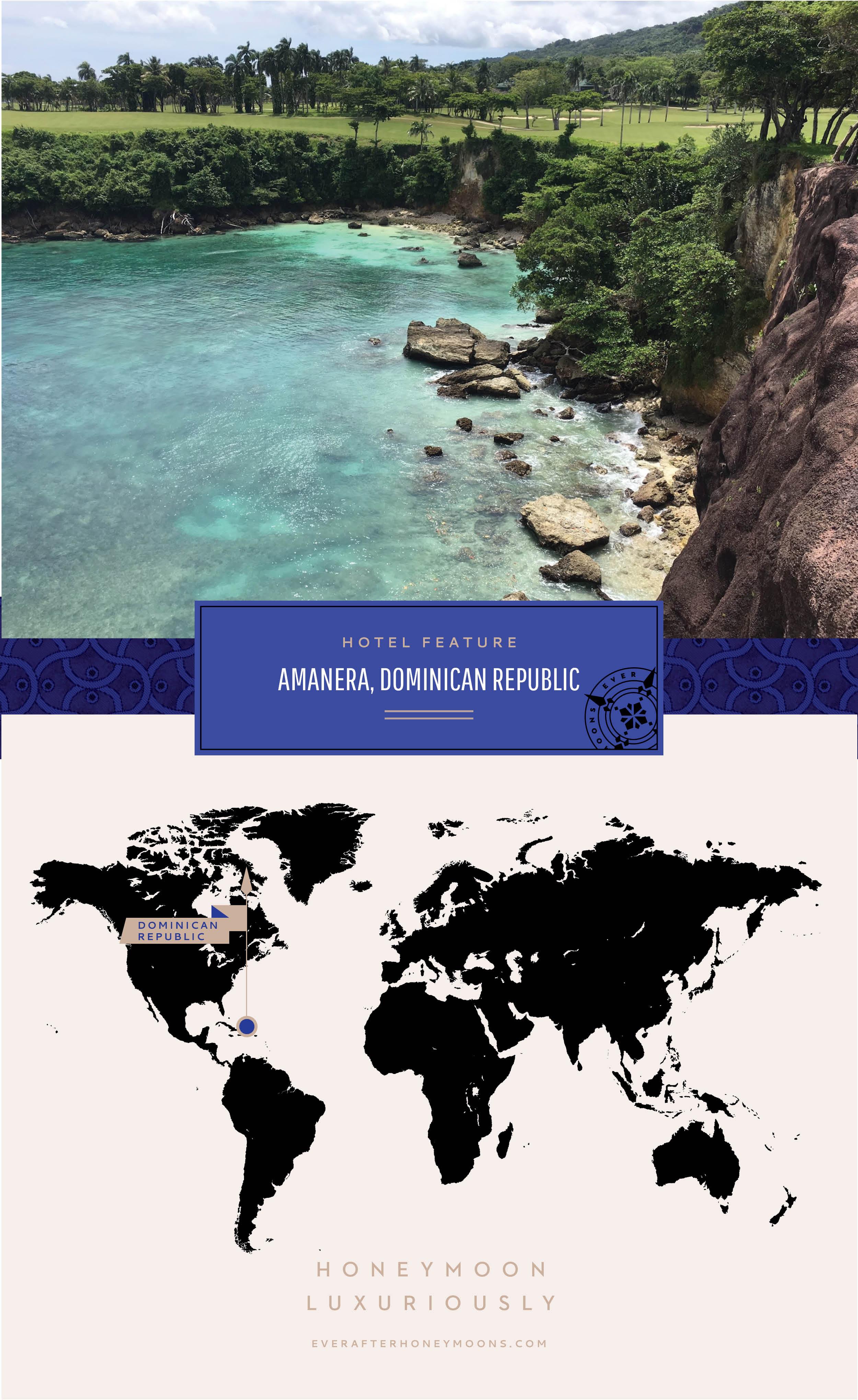 Amanera Map